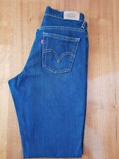 Vintage Levis Womens 550 Relaxed Boot Cut Stretch Blue Denim Jeans Size 8