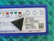 NEW Sumitomo 3NUTPG322 BN700 Carbide Insert 3NU-TPG-322 FREE SHIPPING!!