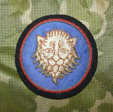 WW2 US Army 106th Infantry Division Bullion Embroidered Blazer Badge