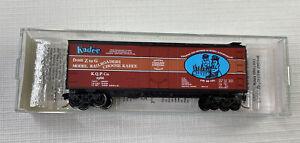 N Scale Kadee Micro-Trains Fortieth Anniversary 40' Box Car 1946-1986 #21046 MTL