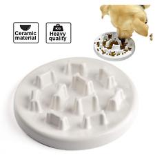 NEW HOCC Pet Dog Cat Slow Feeder Anti Choking Puppy Eating Dish Bowl Tableware