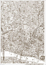 St. Lukes Old Street, The City - London 1888 map 16