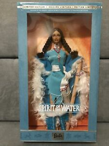 2002 Barbie SPIRIT OF THE WATER #2 in Series Native Spirit Collection 53861 NRFB
