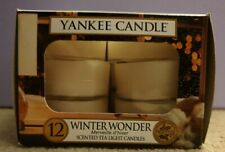 Yankee Candle Pack of 12 Tealights *WINTER WONDER*
