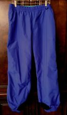 Vintage Columbia Snow Ski Powder Pants - Deep Purple Nylon - Men's L - Lined