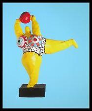 Niki de Saint Phalle Peril jaune Poster Bild Kunstdruck im Alu Rahmen 58x48cm