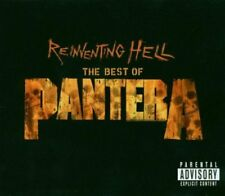 PANTERA REINVENTING HELL THE BEST OF PANTERA CD + DVD METAL BOXNEW