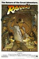 RAIDERS OF THE LOST ARK INDIANA JONES MOVIE POSTER FILM A4 A3 ART PRINT CINEMA