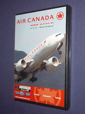 Just Planes Cockpit Video DVD       AIR CANADA   B 777-200LR        new & sealed