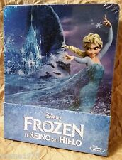Walt Disney FROZEN Blu-Ray Spain Exclusive Limited STEELBOOK RARE
