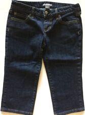 "ANN TAYLOR Petites - Capri Blue Jeans - Women Size 2P - 30"" Waist"
