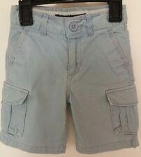 Gap Kids boys light blue cargo shorts adjustable waist age 2 years