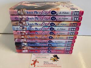 Lot Manga Teach Me Love tomes 1 à 10 Intégrale Hibiki Ai Soleil VF Romance +16