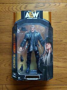 AEW UNRIVALED CHRIS JERICHO WRESTLING FIGURE NEW SEALED WWE ELITE