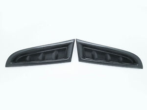 (2) Front Bumper Side Vent Covers RH+LH For 2006-2007 Subaru Impreza WRX STI