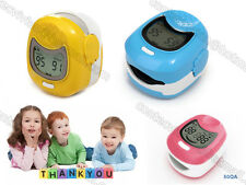 CE,CONTEC CMS50QA Child Use Finger Tip Pulse Oximeter Pediatric SpO2 Monitor LCD