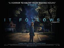 It Follows - A3 Film Poster-FREE UK P&P