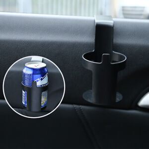Black Large 12oz Cup Drink Bottle Holders for Car Truck Interior Window Dash sl