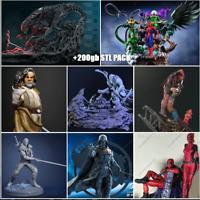 +200gb Stl Files For 3D Print Sanix Gambody