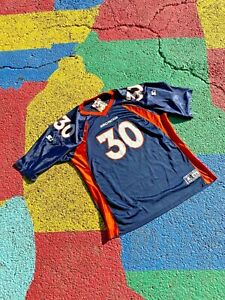 Vintage 1998 Terrell Davis #30 Denver Broncos NFL Football Starter Jersey XXL 54