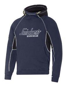 Snickers 2815 Logo Mens New Hoodie Hooded Sweatshirt Casual Workwear Top Hoody