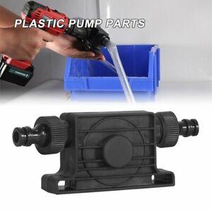 Hand Electric Drill Drive Self Priming Pump Water Oil Fluid Transfer Small Pump~