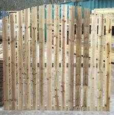 Paling Fence Panel Arched Top - Pressure Treated 6ft x 5ft
