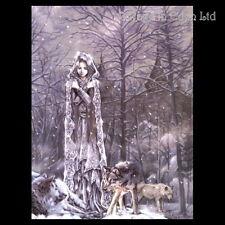*PRINCESCA DE HEILO* Goth Wolf Art 3D Print By Victoria Frances (39.5x29.5cm)