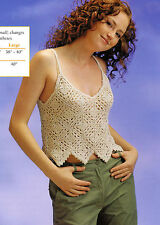 SUMMERTIME Square Deal Vest/Apparel/ Crochet Pattern INSTRUCTIONS ONLY