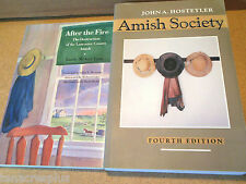 LOT Amish Society AND After the Fire Destruction of Lancaster County Hostetler
