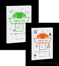 LIFE OF FRED PRE-ALGEBRA 1 and 2 with BIOLOGY and ECONOMICS 2 BOOK SET
