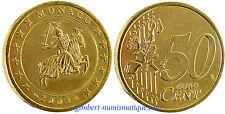 MONACO  ,  50  CENT  EURO  2003   ,      FLEUR  DE  COIN