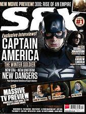 SFX #245 April 2014 CAPTAIN AMERICA Scarlett Johansson ANDREW LINCOLN @NEW@