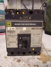 SQUARE D 30 AMP CIRCUIT BREAKER 600 VAC 3 POLE FHP36030TF