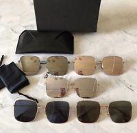 New Genuine Christian Dior Stellaire Sunglasses Ladies Square Gold Metal Frame