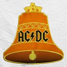 Ac/Dc Hells Bells Logo Embroidered Big Patch Album Cover for Back Angus Young