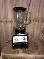 Vintage Osterizer Cyclomatic Black And Chrome works!