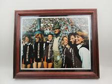 Vintage 1979 Photograph Print of Alabama Bear Bryant with Auburn Cheerleaders