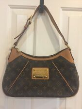 AUTHENTIC LOUIS VUITTON THAMES PM MONOGRAM CANVAS SHOULDER BAG