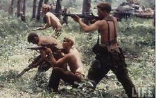 """US Army Vietnam 1ST PATTERN """"ROLLED STEEL"""" M-56 H-SUSPENDERS EXC LONG 1959 Vtg"""