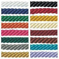 5mm Barley Twist Rope Cord Berisfords Polyester Craft Ribbon