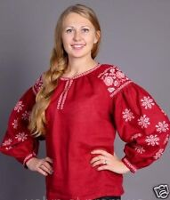 Ukrainian boho embroidered blouse Vita Kin style, vyshyvanka, shirt, 3 models