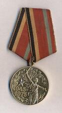 Medaille 30° anniversaire de la victoire de la Grande Guerre Patriotique