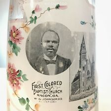 African American Pitcher, Colored Baptist Church Macon, Ga. Founded 1845 Slaves