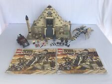 Lego 7327 Pharaoh's Quest Scorpion Pyramid W/ All Pieces, Minifigures & Manuals