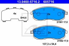 Bremsbelagsatz Scheibenbremse - ATE 13.0460-5716.2