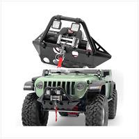 Metall Frontsto ßstange Scheinwerfer für AXIAL SCX10 III Jeep TUBE RC Car Parts