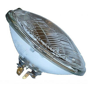 5-3/4 Halogen Glass Sealed Beam Hi / Low Beam Headlight Head Light Headlamp Bulb