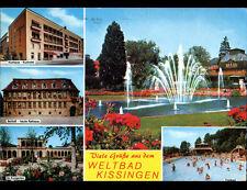 WELTBAD KISSINGEN / HASSFURT (ALLEMAGNE) HOTEL , PISCINE & ECOLE en 1986