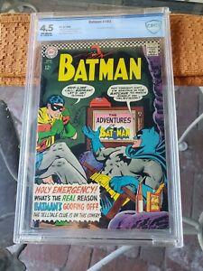 BATMAN # 183 ( CBCS 4.5)